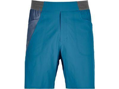 Ortovox Merino Shield Ultra Light Piz Selva Shorts M blue sea