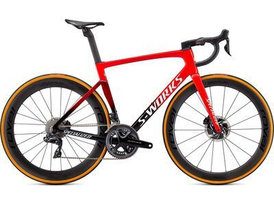 Specialized S-Works Tarmac SL7 Dura Ace Di2 flo red/tarmac black/white 2021