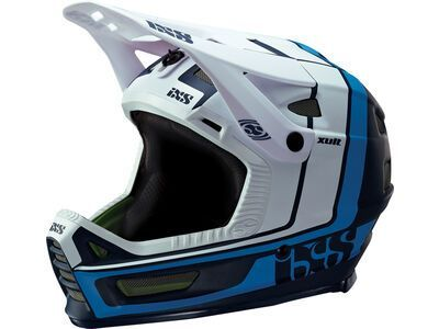 IXS Xult, night blue/blanc - Fahrradhelm