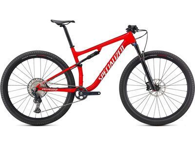 Specialized Epic Comp, flo red/metallic white silver