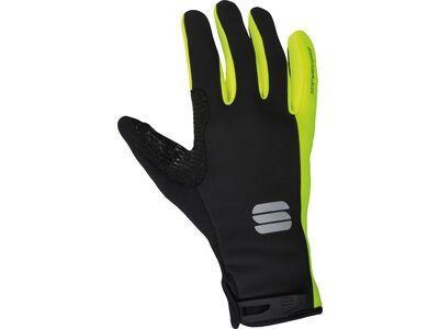 Sportful WS Essential 2 Gloves, black yellow fluo