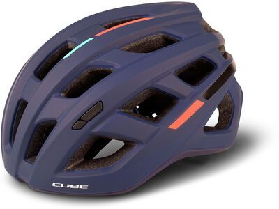 Cube Helm Road Race Teamline blue´n´mint