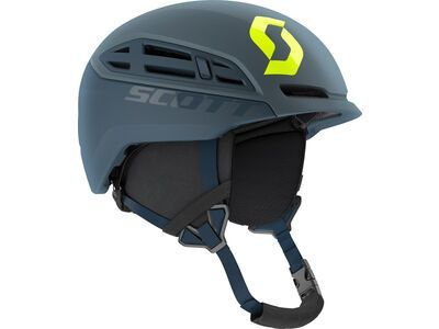 Scott Couloir Mountain Helmet, storm grey/ultralime yellow - Skihelm