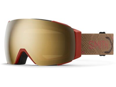 Smith I/O Mag inkl. WS, AC | Angel Collision/Lens: cp sun black gold mir - Skibrille