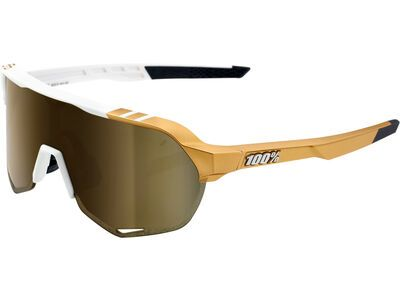 100% S2 Peter Sagan LTD – Gold Mirror weiß/gold