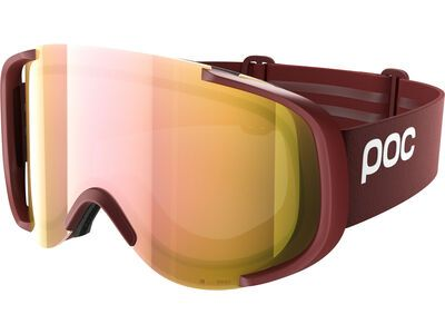 POC Cornea Clarity, lactose red/spektris rose gold - Skibrille