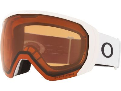 Oakley Flight Path XL Prizm, matte white/Lens: persimmon - Skibrille