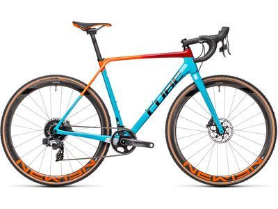 Cube Cross Race C:62 SLT 2021, blue´n´redfading - Crossrad