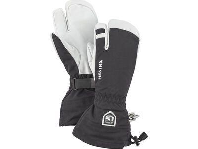 Hestra Army Leather Heli Ski 3 Finger, black - Skihandschuhe