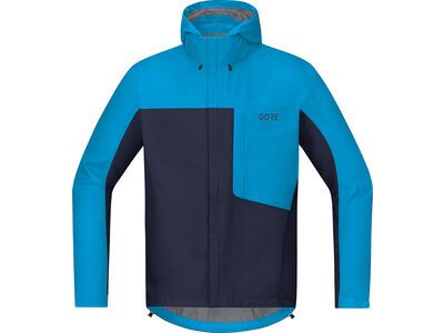 Gore Wear C3 Gore-Tex Paclite Kapuzenjacke, orbit blue/cyan - Radjacke