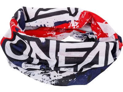 ONeal Neckwarmer USA white/blue/red