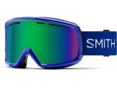 Smith Range, klein blue/Lens: green sol-x mir - Skibrille