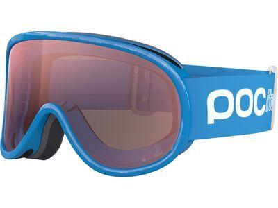 POC POCito Retina, fluo blue/Lens: spektris orange - Skibrille