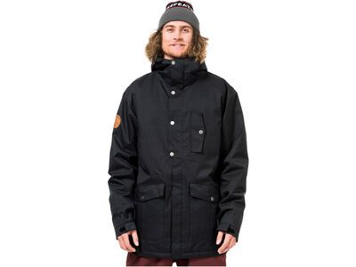 Horsefeathers Hubbard Jacket, heather black - Snowboardjacke