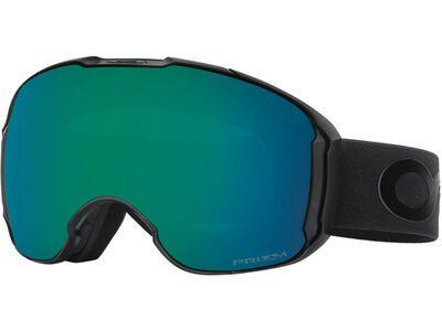 Oakley Airbrake XL Prizm Factory Pilot Blackout + WS, Lens: jade iridium - Skibrille
