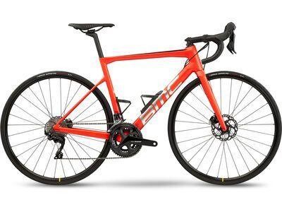 BMC Teammachine SLR Four racing red & brushed silver 2021