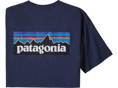 Patagonia Men's P-6 Logo Responsibili-Tee, classic navy - T-Shirt