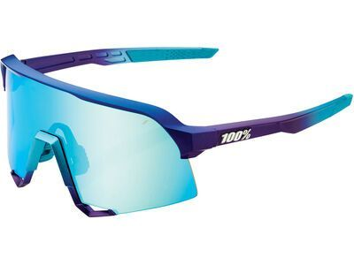 100% S3 - Blue Topaz ML Mir matte metallic into the fade