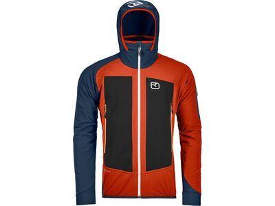 Ortovox Merino Naturtec Light Col Becchei Jacket M desert orange