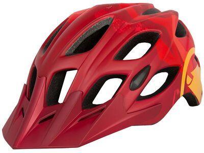 Endura Hummvee Helmet red