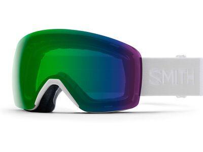 Smith Skyline, white vapor/Lens: cp everyday green mir - Skibrille