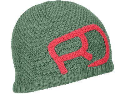 Ortovox Merino Rock'n'Wool Beanie W, green isar - Mütze