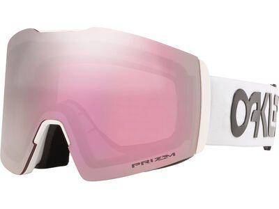 Oakley Fall Line XL Prizm Factory Pilot, white/Lens: hi pink iridium - Skibrille