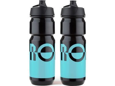 Rondo Bidon 2 x 750 ml Set, blue/black - Trinkflasche