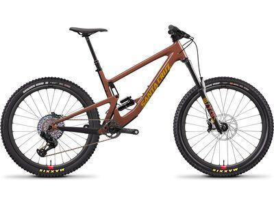 Santa Cruz Bronson CC XX1 Reserve 2020, red/yellow - Mountainbike