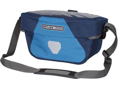 Ortlieb Ultimate Six Plus 5 L - ohne Halterung, denim-steel blue - Lenkertasche