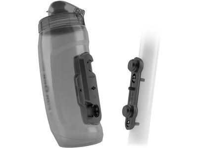 Fidlock Twist Bottle 590 + Bike Base transparent black