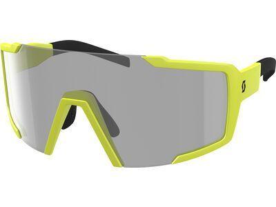 Scott Shield LS yellow matt/Lens: grey light sensitive