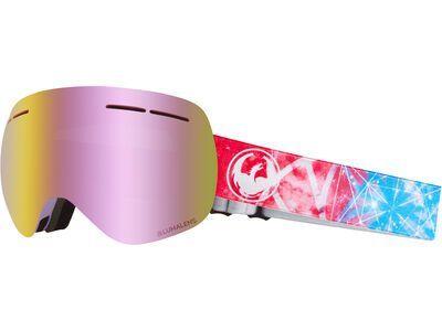 Dragon X1S inkl. WS, galaxy/Lens: lumalens pink ionized