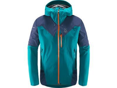 Haglöfs L.I.M Touring Proof Jacket Men, green/tarn blue - Skijacke