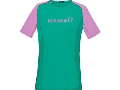 Norrona fjørå equaliser lightweight T-Shirt W's violet tuille/arcadia