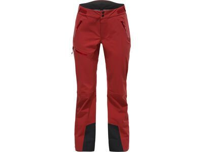 Haglöfs Stipe Pant Women, brick red  - Skihose