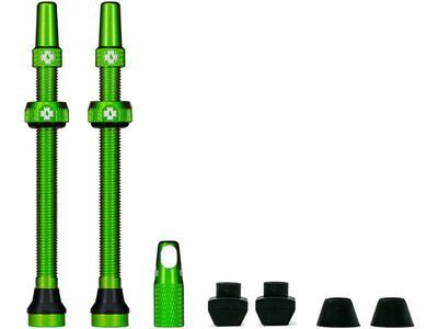 Muc-Off Tubeless Presta Valve - 80 mm, green - Tubeless-Ventil