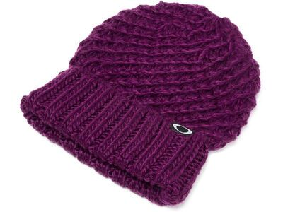 Oakley Beanie Mix Yarn, burgundy - Mütze