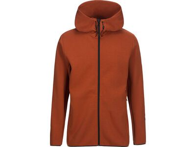 Peak Performance Tech Zip Hood, desert clay - Hoody