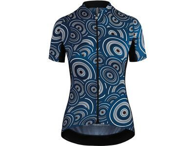 Assos UMA GT Short Sleeve Jersey, caleum blue - Radtrikot