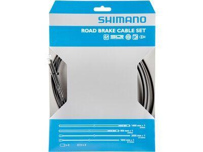 Shimano Bremszug-Set Road Sil-Tec beschichtet schwarz