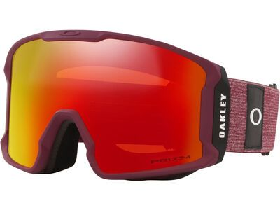 Oakley Line Miner XL Prizm, heathered grenache grey/Lens: torch iridium - Skibrille