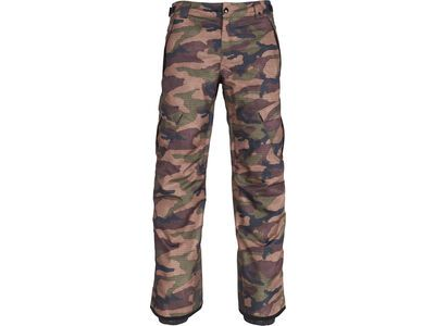 686 Men's Infinity Insulated Cargo Pant, dark camo - Snowboardhose