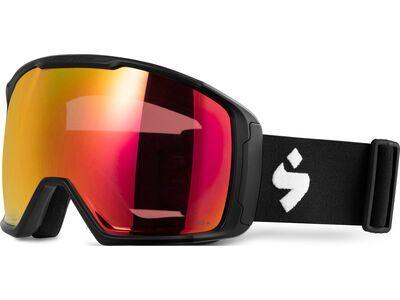 Sweet Protection Clockwork MAX RIG Reflect, matte black/Lens: RIG topaz - Skibrille
