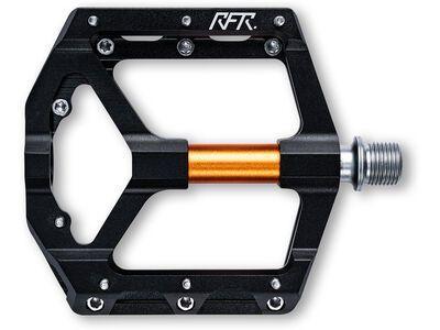 Cube RFR Pedale Flat SLT 2.0 black´n´orange