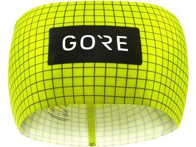 Gore Wear Grid Stirnband neon yellow/black