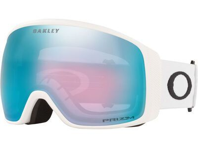 Oakley Flight Tracker XL Prizm, matte white/Lens: sapphire iridium - Skibrille