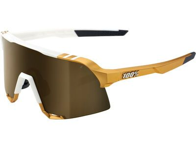 100% S3 Peter Sagan LTD – Gold Mirror weiß/gold