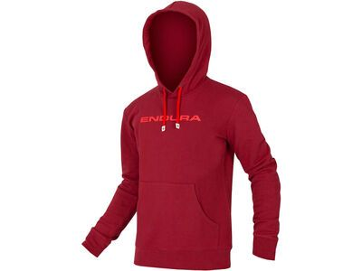 Endura One Clan Hoodie, rust red - Hoody