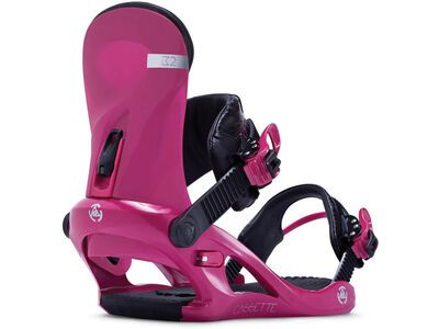 *** 2. Wahl *** K2 Cassette 2014, pink - Snowboardbindung | Größe S